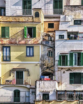 Photograph - Rooms With A View.amalfi by Jennie Breeze
