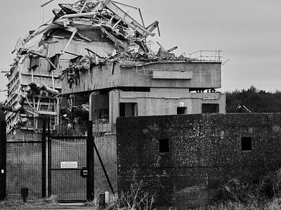 Barrow In Furness Wall Art - Photograph - Roosecote Power Station by Keith Elliott