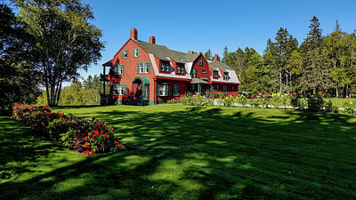 Photograph - Roosevelt Cottage, Campobello In Canada by Marilyn Burton