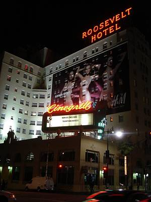 Photograph - Roosevelt Hotel by Kenny Glover