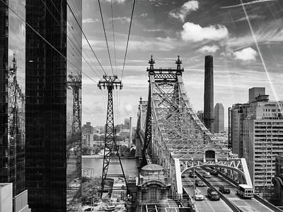Photograph - Roosevelt Island Tram View by Megan Crandlemire