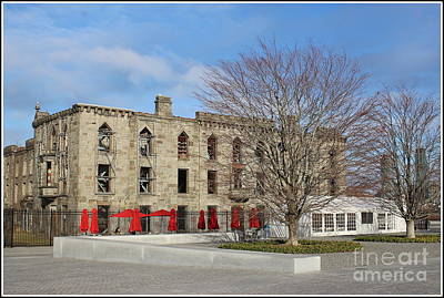 Photograph - Roosevelt Island's Historic Hospital by Dora Sofia Caputo Photographic Art and Design