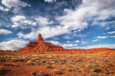 Photograph - Rooster Butte by David Cote