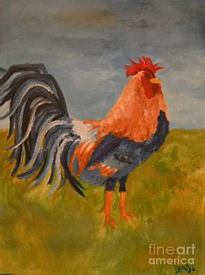 Painting - Rooster by Denise Tomasura