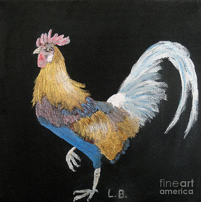 Painting - Rooster by Laurel Best