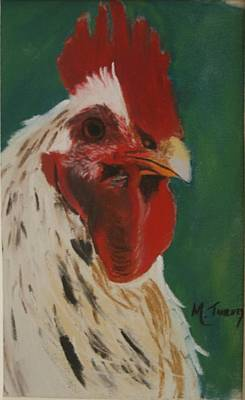 Pastel - Rooster by Michele Turney