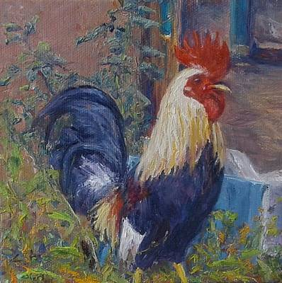 Painting - Rooster Of Navarit by Candi Hogan