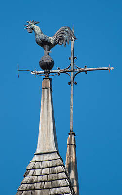 Photograph - Rooster Weathervane by Jani Freimann