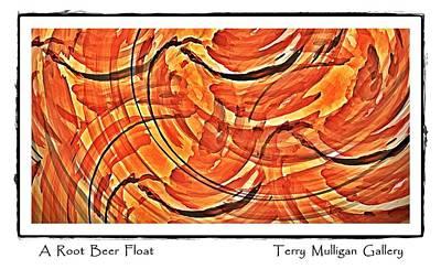 Root Beer Float Art Print by Terry Mulligan