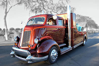 Root Beer Hauler Art Print by Bill Dutting