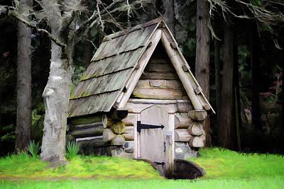 Digital Art - Root House by Richard Farrington