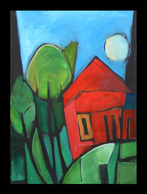 Moon Painting - Root Cellar by Tim Nyberg