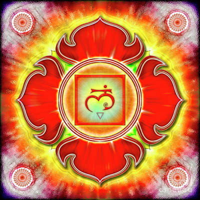 Root Chakra - Series 3 Art Print by Dirk Czarnota