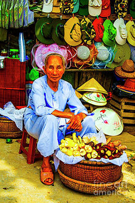Photograph - Root Seller by Rick Bragan