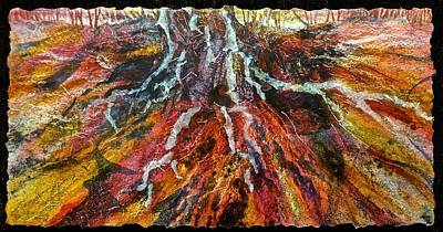 Painting - Roots From The Past by Carolyn Rosenberger
