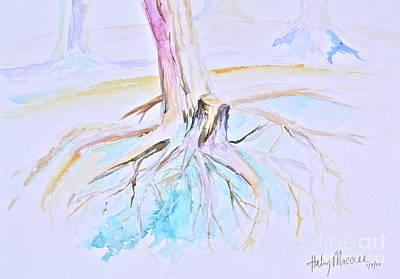 Painting - Roots by Haley Howard