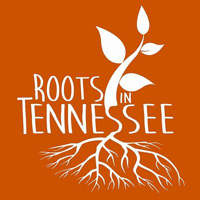 Digital Art - Roots In Tennessee Seedlin by Heather Applegate