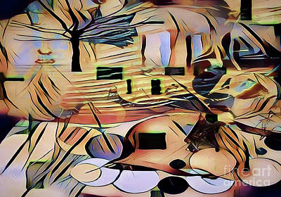 Digital Art - Roots In War by Diana Mary Sharpton