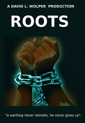 Roots Mini Series Poster  Original by Enki Art