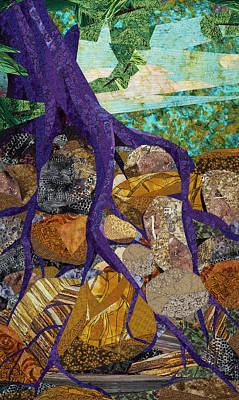 Tapestry - Textile - Roots Run Deep by Linda Beach