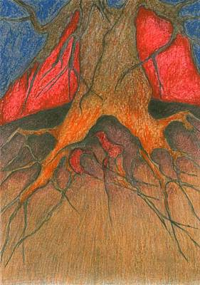 Roots Art Print by Wojtek Kowalski
