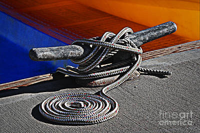 Photograph - Rope Swirl by Danuta Bennett