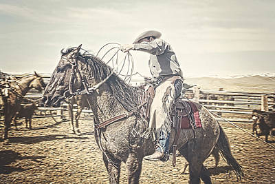 Photograph - Roped And Ready by Amanda Smith