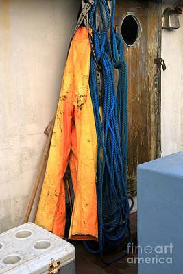 Photograph - Ropes And Overalls by Adam Jewell