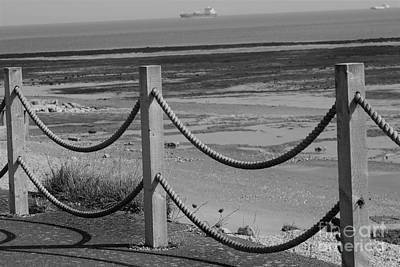 Photograph - Ropes At Low Tide by Linda Prewer
