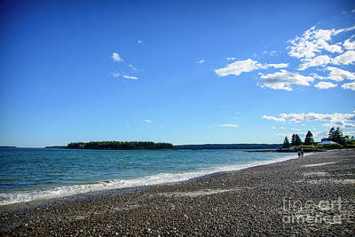 Photograph - Roque Bluffs Beach by Alana Ranney