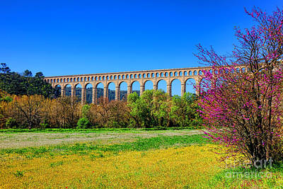 Provence Photograph - Roquefavour Aqueduct by Olivier Le Queinec