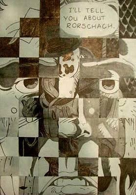 Rorschach Drawing - Rorschach by Rachel Frock