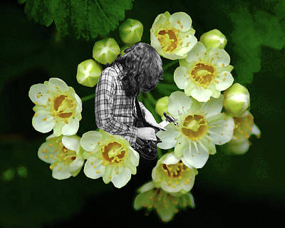 Art Print featuring the photograph Rory Flower by Ben Upham