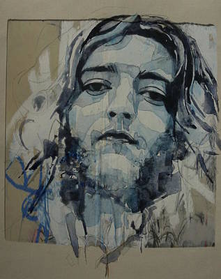 Portrait Mixed Media - Rory Gallagher by Paul Lovering