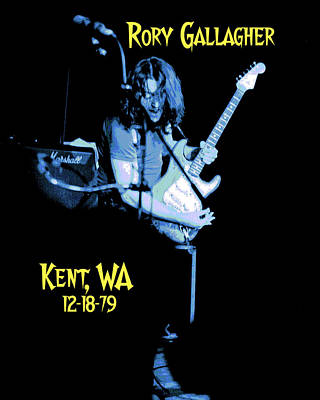 Art Print featuring the photograph Rory Kent Blues by Ben Upham