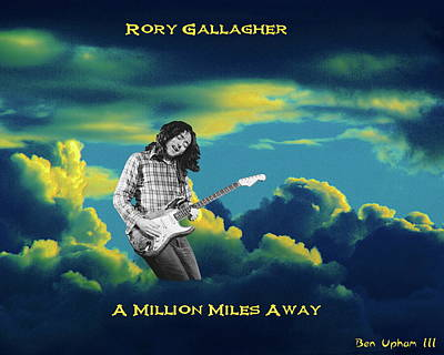 Rory Million Miles Away Art Print by Ben Upham