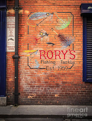 Photograph - Rory's Fishing Tackle by Craig J Satterlee