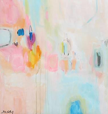 Rosa Abstract Art Print by Jolina Anthony