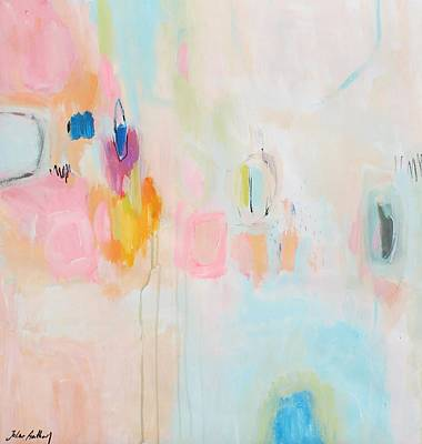 Painting - Rosa Abstract by Jolina Anthony