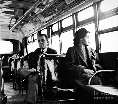 Jim Crow South Photograph - Rosa Parks (1913-2005) by Granger