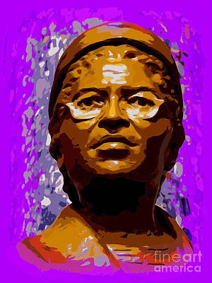 Digital Art - Rosa Parks-first Lady Of Civil Rights by Ed Weidman