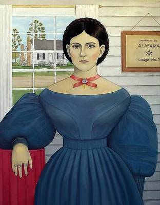 Republic Of Texas Painting - Rosanna Cato by Mark Barnett