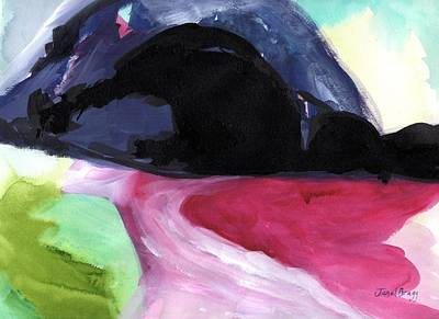 Painting - Rosario Beach Abstract by Janel Bragg