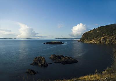 Photograph - Rosario Strait Near Anacortes by Yulia Kazansky