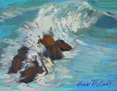 Painting - Rosarito Beach 2 by Diane McClary