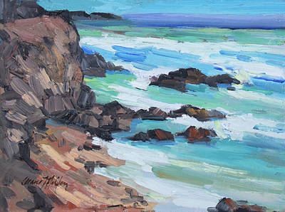 Painting - Rosarito Beach Baja by Diane McClary