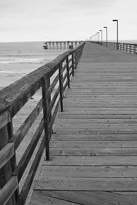 Wall Art - Photograph - Rosarito Pier by Mary McGrath