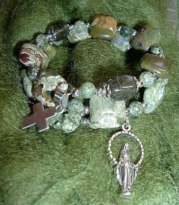 Jewelry - Rosary Bracelet by Michele Myers