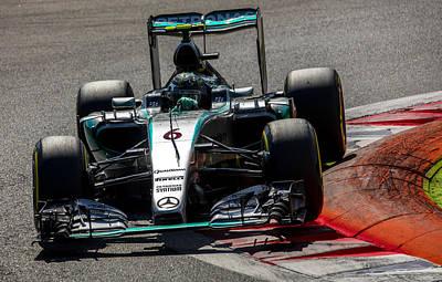 Rosberg Formula 1 Art Print by Srdjan Petrovic