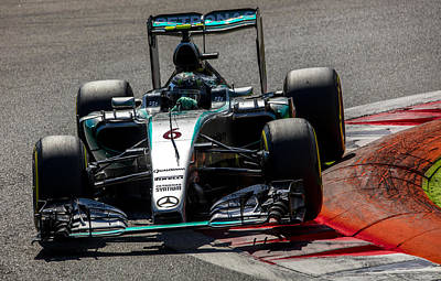 Sauber Photograph - Rosberg Formula 1 by Srdjan Petrovic